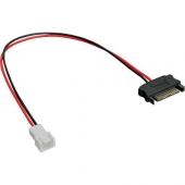 Cable Adaptador Alimentación SATA Macho a MOLEX 2 pin