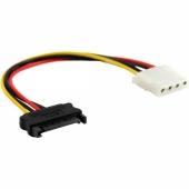 Cable Adaptador Alimentación de SATA a MOLEX 15 cm