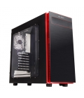 Caja PC In Win 703 Negra/Roja